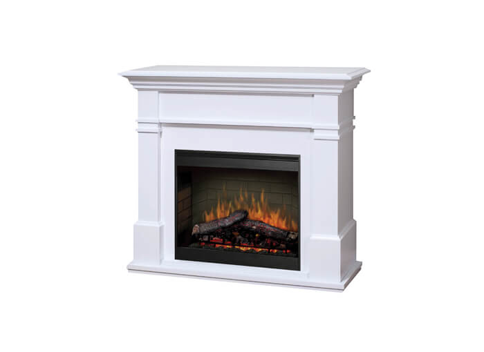 Kenton White with mantel