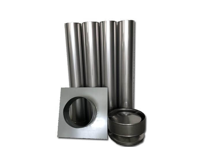 Chimney flue kit