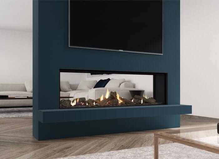 Escea DS1400 Gas Fireplace