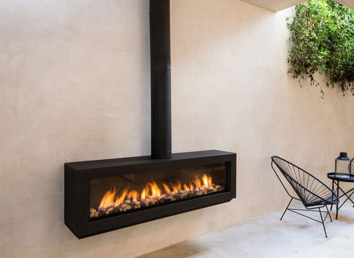 Ortal Stand Alone 150 Gas Fireplace Melbourne Climatise